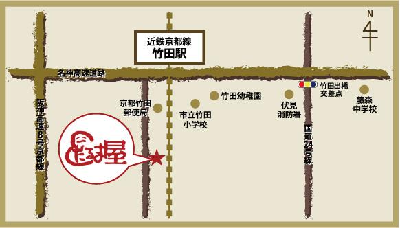 だるま屋地図